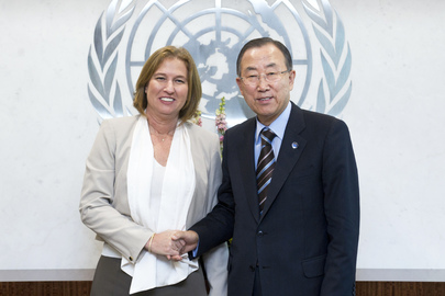 Secretary-General Meets Minister of Justice of Israel