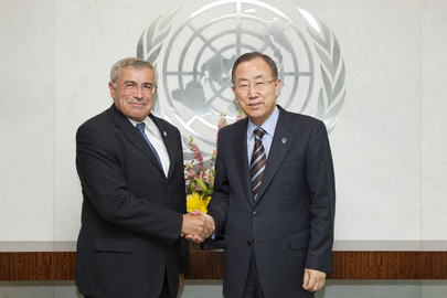 Secretary-General Meets with Executive Secretary of UNECE