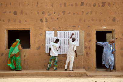 Malians Vote in 2013 Presidential Election