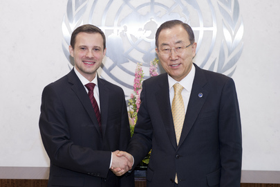 Farewell Call by First Secretary of Mission of Slovakia to UN