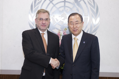 Farewell Call by Permanent Representative of Croatia