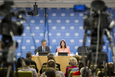 Press Conference by President of Security Council for August