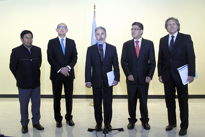 Foreign Ministers of MERCOSUR Countries Speak to Press