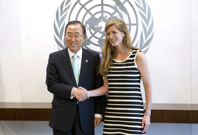 Secretary-General Meets with New Permanent Representative of the United States