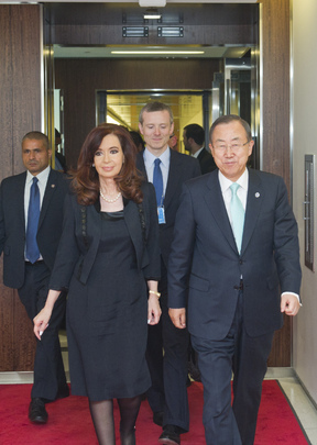 Secretary-General Meets President of Argentina