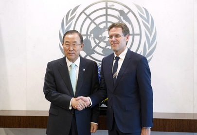 Secretary-General Meets with New Permanent Representative of Denmark