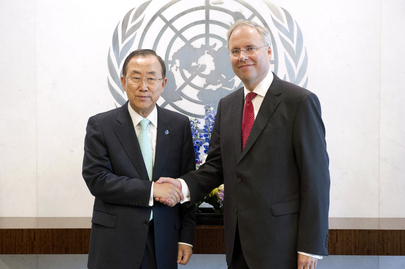 Secretary-General Meets with New Permanent Representative of the Netherlands