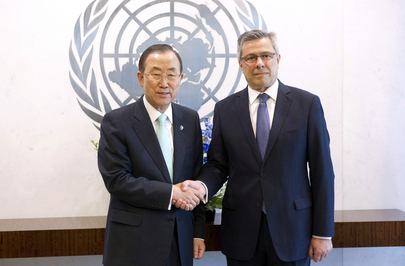 Secretary-General Meets with New Permanent Representative of Croatia