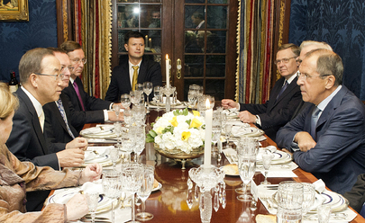 Secretary-General Meets Russian Foreign Minister