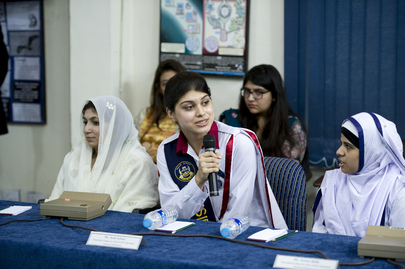 Youth and Education Event at Islamabad College for Girls