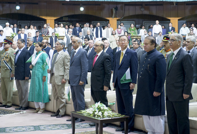 Secretary-General Attends Independence Day Celebrations in Pakistan