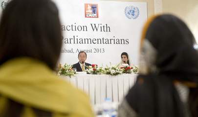 Secretary-General Meets Pakistani Women Parliamentarians