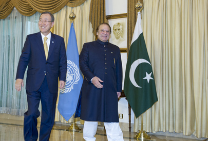 Secretary-General Meets Prime Minister of Pakistan