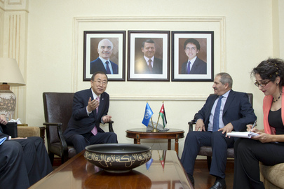 Secretary-General Meets Foreign Minister of Jordan