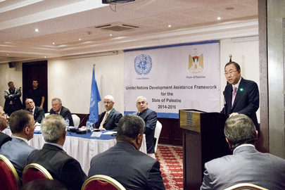 Launch of UN Development Assistance Framework for State of Palestine