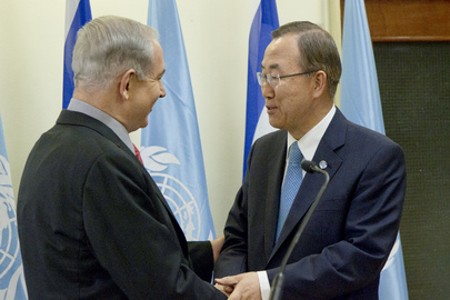 Secretary-General Meets Prime Minister of Israel