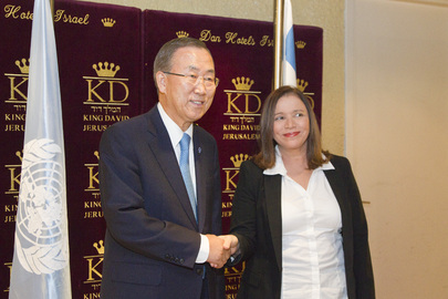 Secretary-General Meets Israeli Opposition Leader
