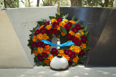 Secretary-General Lays Wreath at Grave Site of Yitzhak Rabin