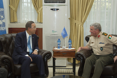Secretary-General Meets Head of UNTSO
