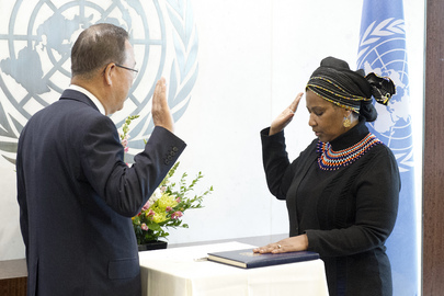 New Head of UN Women Sworn In