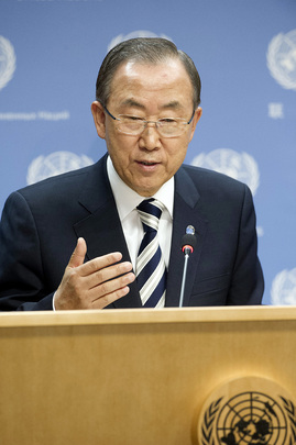 Press Briefing by Secretary-General