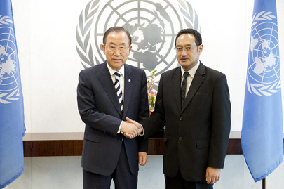 Secretary-General Meets New Permanent Representative of Tonga