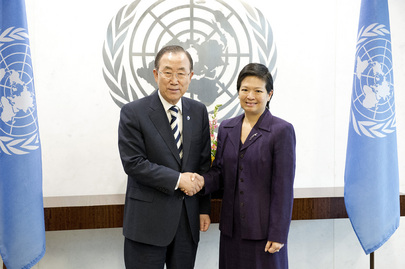 Secretary-General Meets New Permanent Representative of Singapore