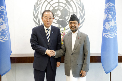 Secretary-General Meets New Permanent Representative of Nepal