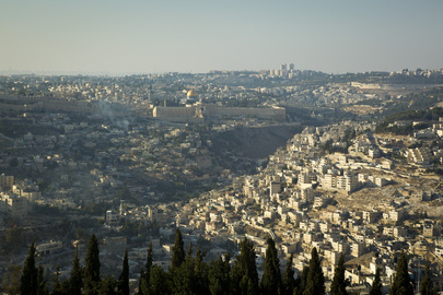 Bird's Eye View of Jerusalem
