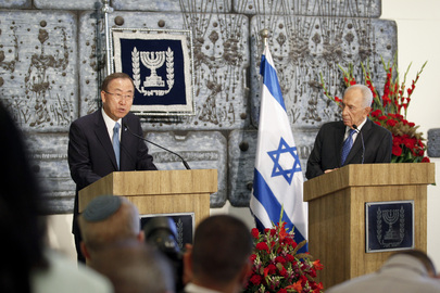 Press Conference by Secetary-General and Israeli President