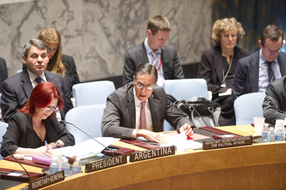 Security Council Discusses Middle East Situation