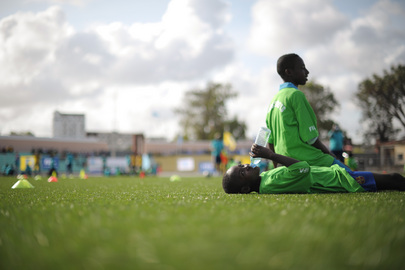 Children Attend FIFA Football Festival in Mogadishu
