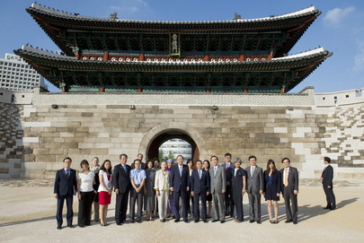 Secretary-General Visits South Gate of Seoul