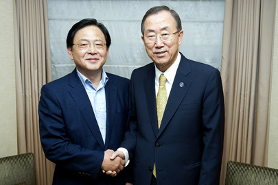 Secretary-General Meets Head of Republic of Korea's Development Agency