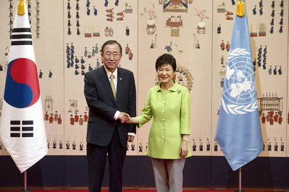 Secretary-General Meets President of Republic of Korea