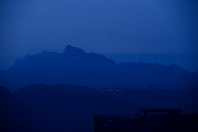 Mountains Surrounding Seoul