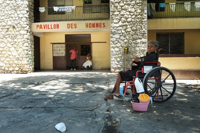 MINUSTAH Finances Rehabilitation of Home for Elderly in Port-au-Prince