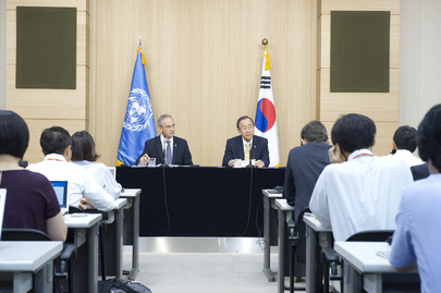 Press Conference by Secretary-General in Seoul