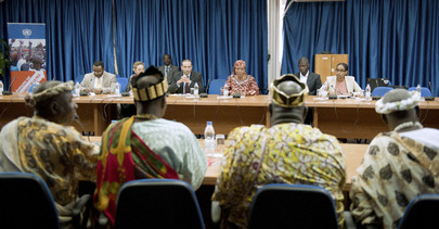 Head of UNOCI Receives Delegation of Traditional Rulers