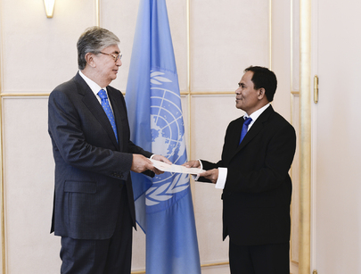 Permanent Representative of Timor-Leste to UNOG Presents Credentials