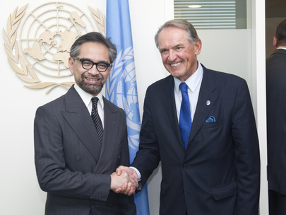 Deputy Secretary-General Meets Foreign Minister of Indonesia