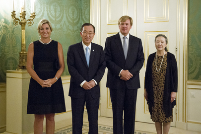 Secretary-General Meets King of Netherlands
