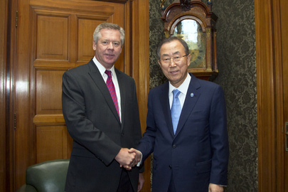 Secretary-General Meets Deputy Foreign Minister of Russia