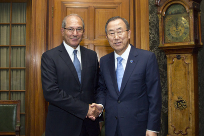 Secretary-General Meets Head of OPCW