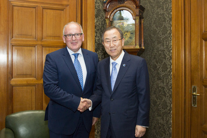 Secretary-General Meets Dutch Foreign Minister