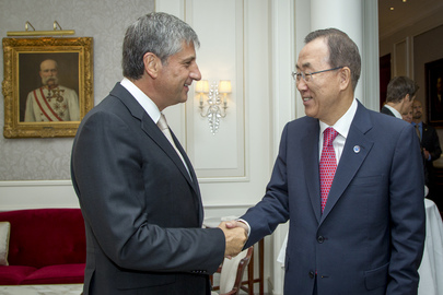 Secretary-General Meets Foreign Minister of Austria