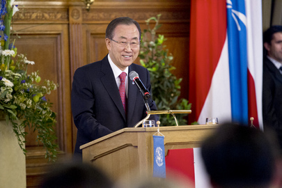 Secretary-General Receives Award from City of Vienna