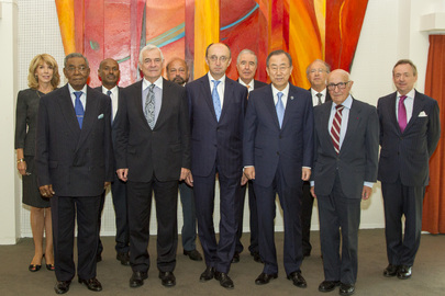 Secretary-General Meets Presidents of International Courts in The Hague