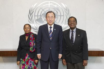 Farewell Call by Permanent Representative of Bahamas