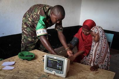 AMISOM Health Clinic in Kismayo